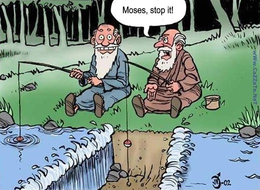 Cartoon Fishing Pictures. Fishing with Moses